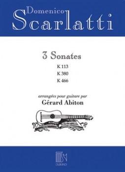3 Sonatas(Abiton) available at Guitar Notes.