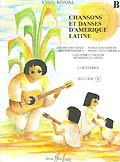 Chansons et Danses d'Amerique Latine: Vol.B available at Guitar Notes.