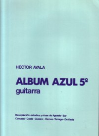 Album Azul: Vol.5 available at Guitar Notes.