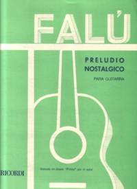 Preludio Nostalgico available at Guitar Notes.