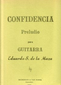Confidencia, preludio available at Guitar Notes.