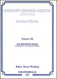 Six Schubert Songs(Mertz) available at Guitar Notes.