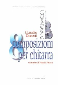 8 composizioni per chitarra available at Guitar Notes.