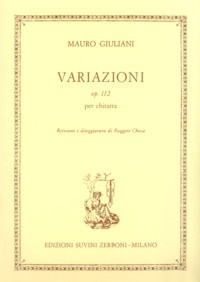 Variazioni, op.112(Chiesa) available at Guitar Notes.