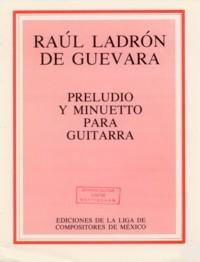 Preludio y Minuetto(Moreno) available at Guitar Notes.