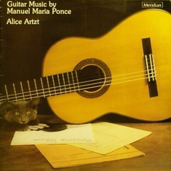 Guitar Music by Manuel M Ponce available at Guitar Notes.