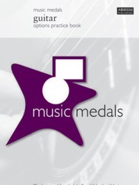 Music Medals  Guitar Options Practice Book available at Guitar Notes.