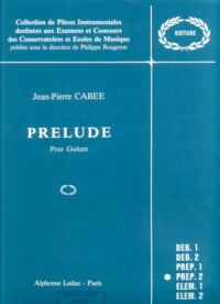 Prelude available at Guitar Notes.