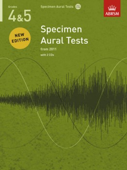 Specimen Aural Tests: Grade 4-5 available at Guitar Notes.
