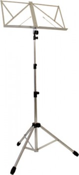 Music Stand (chrome) available at Guitar Notes.