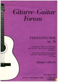 Intro.Theme & Variations op.26 (Libbert) available at Guitar Notes.