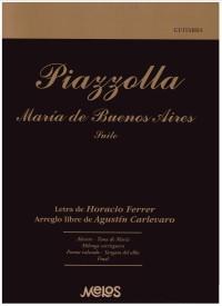 Maria de Buenos Aires (Carlevaro) available at Guitar Notes.