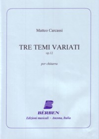 Tre Temi variati, op.12(Rossini) available at Guitar Notes.