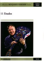 Eleven Etudes available at Guitar Notes.