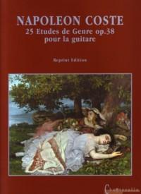 25 Etudes de Genre, op.38 (facsimile) available at Guitar Notes.