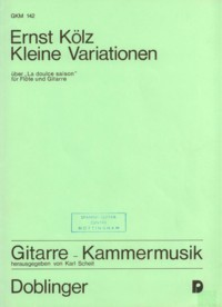 Kleine Variationen(Scheit) available at Guitar Notes.