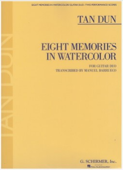 Eight Memories in Watercolor (Barrueco) available at Guitar Notes.