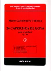 24 Caprichos de Goya, Vol.1 available at Guitar Notes.