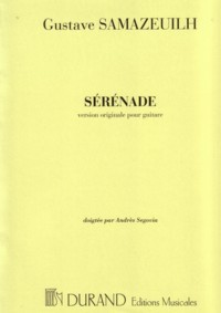 Serenade(Segovia) available at Guitar Notes.