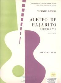 Aleteo de pajarito, scherzo available at Guitar Notes.