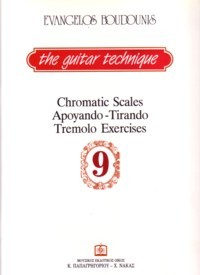 Guitar Technique 9: Chromatic Scales, Apoyando-Tirando available at Guitar Notes.