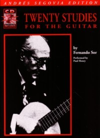 20 Studies(Segovia) [BCD] available at Guitar Notes.