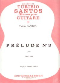 Prelude no.3 available at Guitar Notes.