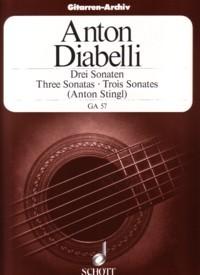 3 Sonatas(Stingl) available at Guitar Notes.