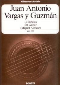 13 Sonatas(Alcazar) available at Guitar Notes.