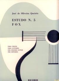 Estudo no.5; Fox available at Guitar Notes.