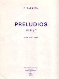 Preludios nos.6 y 7  available at Guitar Notes.