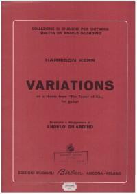 Variations (Gilardino) available at Guitar Notes.