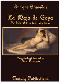 La Maja de Goya (Romero) available at Guitar Notes.