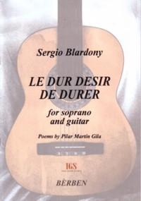 Le Dur Desir de Durer  available at Guitar Notes.