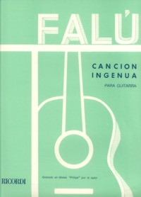 Cancion Ingenua available at Guitar Notes.