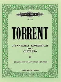 24 Fantasias Romanticas, Vol.2 available at Guitar Notes.