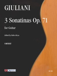 3 Sonatinas, op.71(Rizza) available at Guitar Notes.