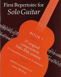 First Repertoire Solo Guitar, Book 1 available at Guitar Notes.