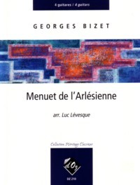 Menuet  de l'Arlesienne(Levesque) available at Guitar Notes.