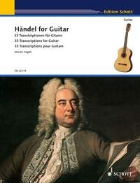 Handel for Guitar (Hegel) available at Guitar Notes.