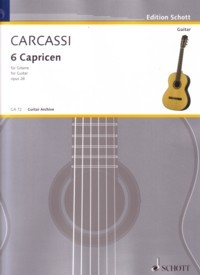 6 Caprices, op.26 available at Guitar Notes.