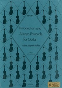 Introduction & Allegro Pastoral available at Guitar Notes.