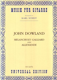 Melancholy Galliard & Allemande(Scheit) available at Guitar Notes.