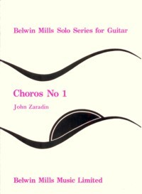 Choros no.1 available at Guitar Notes.