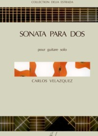 Sonata para dos(Estrada) available at Guitar Notes.