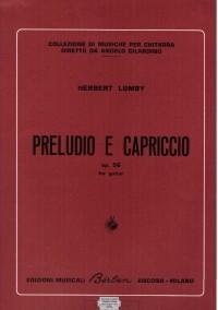 Preludio e Capriccio op.56(Lumby) available at Guitar Notes.