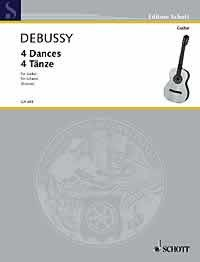 Four Dances(Krause) available at Guitar Notes.