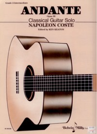Andante, op.39(Keaton) available at Guitar Notes.