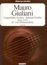 Selected Studies, op.111/1(Hoheneichen) available at Guitar Notes.