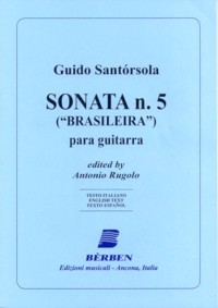 Sonata no.5 'Brasileira' available at Guitar Notes.